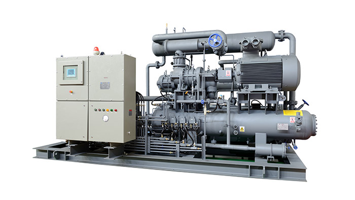 Siphon-Type Low-Temperature Brine Chiller