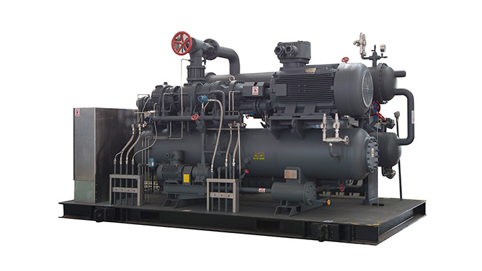 GEPT-R290 CO2 High Efficiency Phase Change Refrigerating Unit
