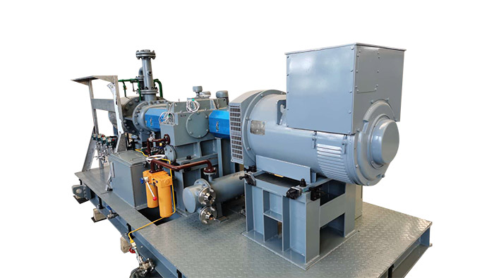 Oil-free Screw Steam Expansion Generator Unit