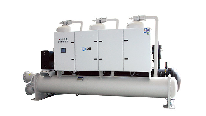 Water-cooled screw chiller (heat pump) unit